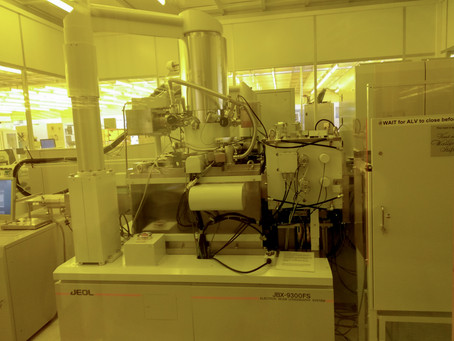 Electron Beam Lithography (EBL) and how I lost hours due to a'\W'