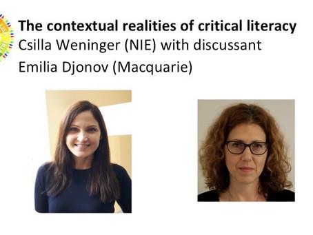 The contextual realities of critical literacy