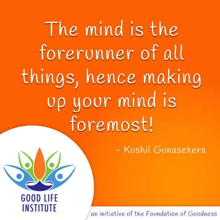 The Mind is the Forerunner...