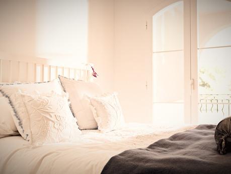 Schlafzimmer als Wohlfühlort