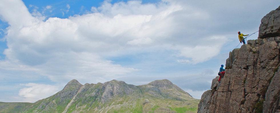 Rock Climbing Lake District - Kettle Crag in Langdale