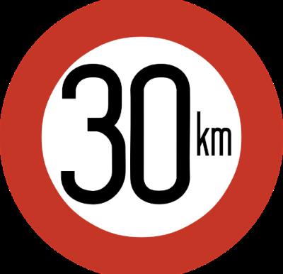 Hvad ville du sige til 30 km/t i den by hvor du bor?