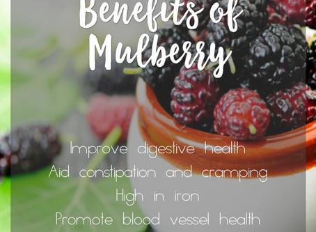 Why you should be eating Mulberries