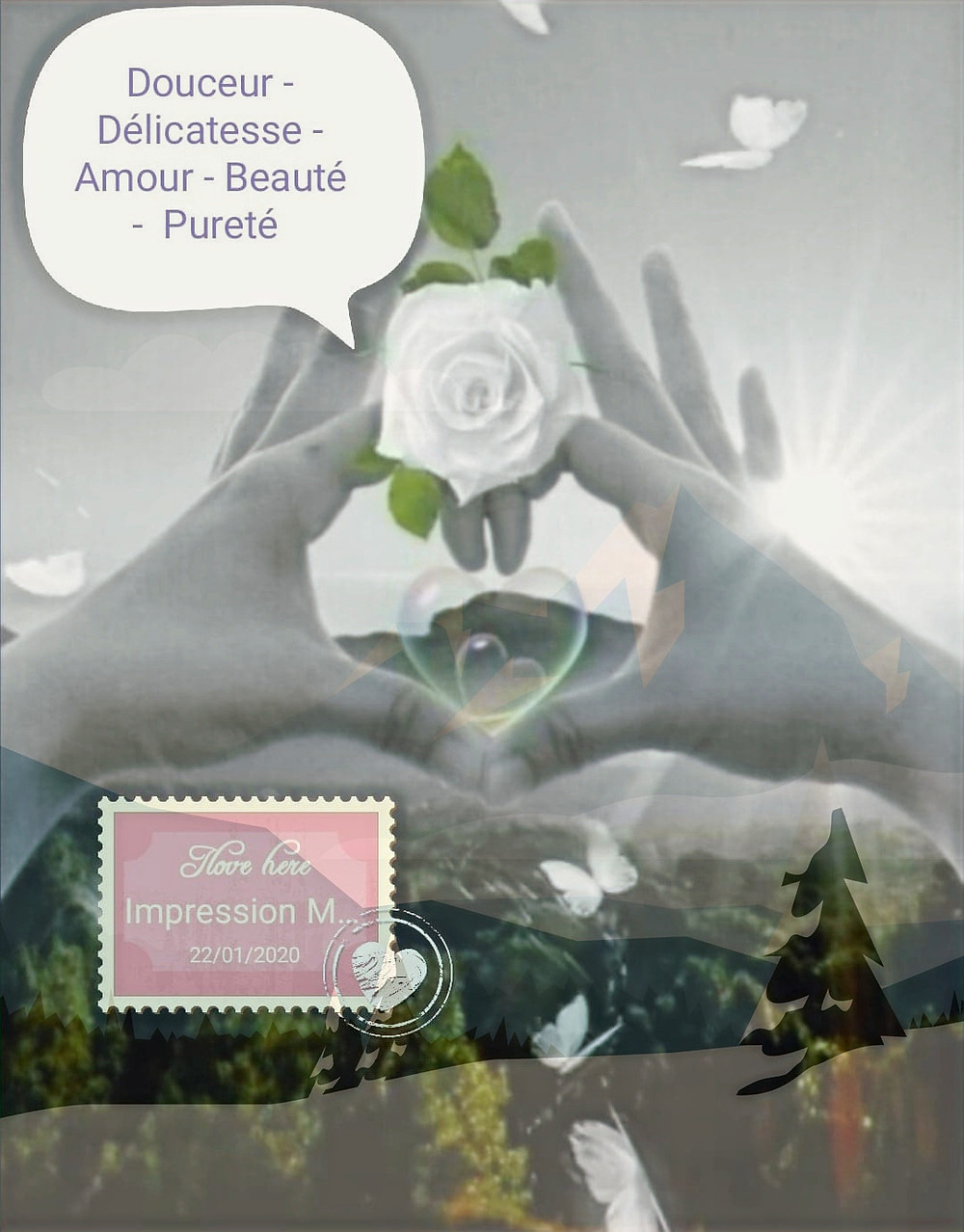 L'Offre Saint-Valentin Impression-Massage, Val d'Oise, 95, 78, Conflans, Herblay, Pontoise, Cergy