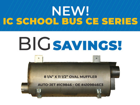 New IC School Bus CE Series