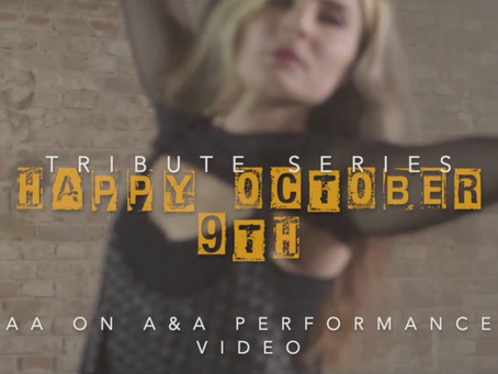 """""""AA to A&A"""" - Anna Achimowicz performance video for DAVID ELLEFSON (Altitudes & Attitude) Day"""