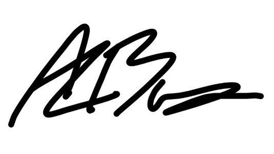 Signature of Revd Allen Bower