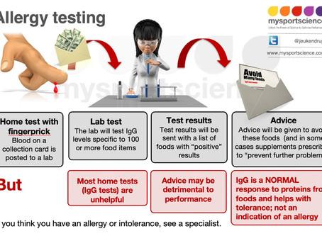 How useful is an allergy test?