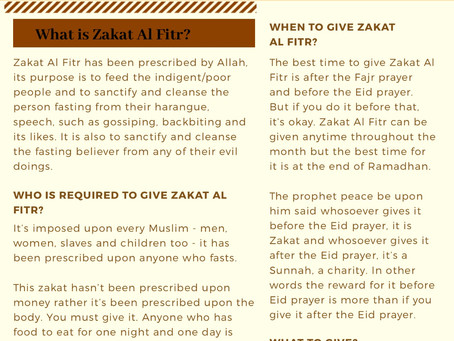 Ruling of Zakat Al-Fitr