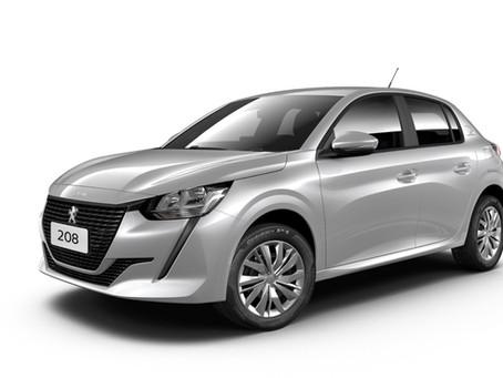 Novo Peugeot 208 com câmbio manual em duas versões a partir de R$ 65.990