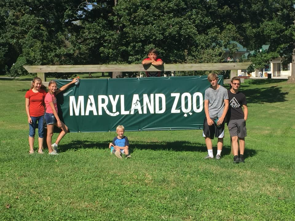 kids at the maryland zoo