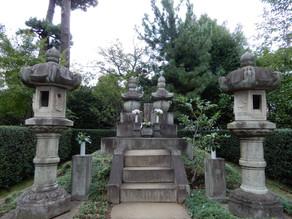 勝海舟・民子の墓