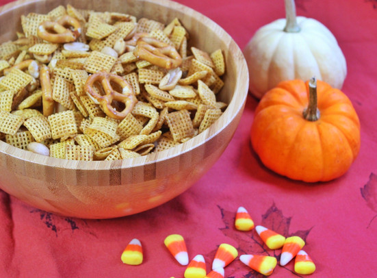 Half Recipe Chex Mix