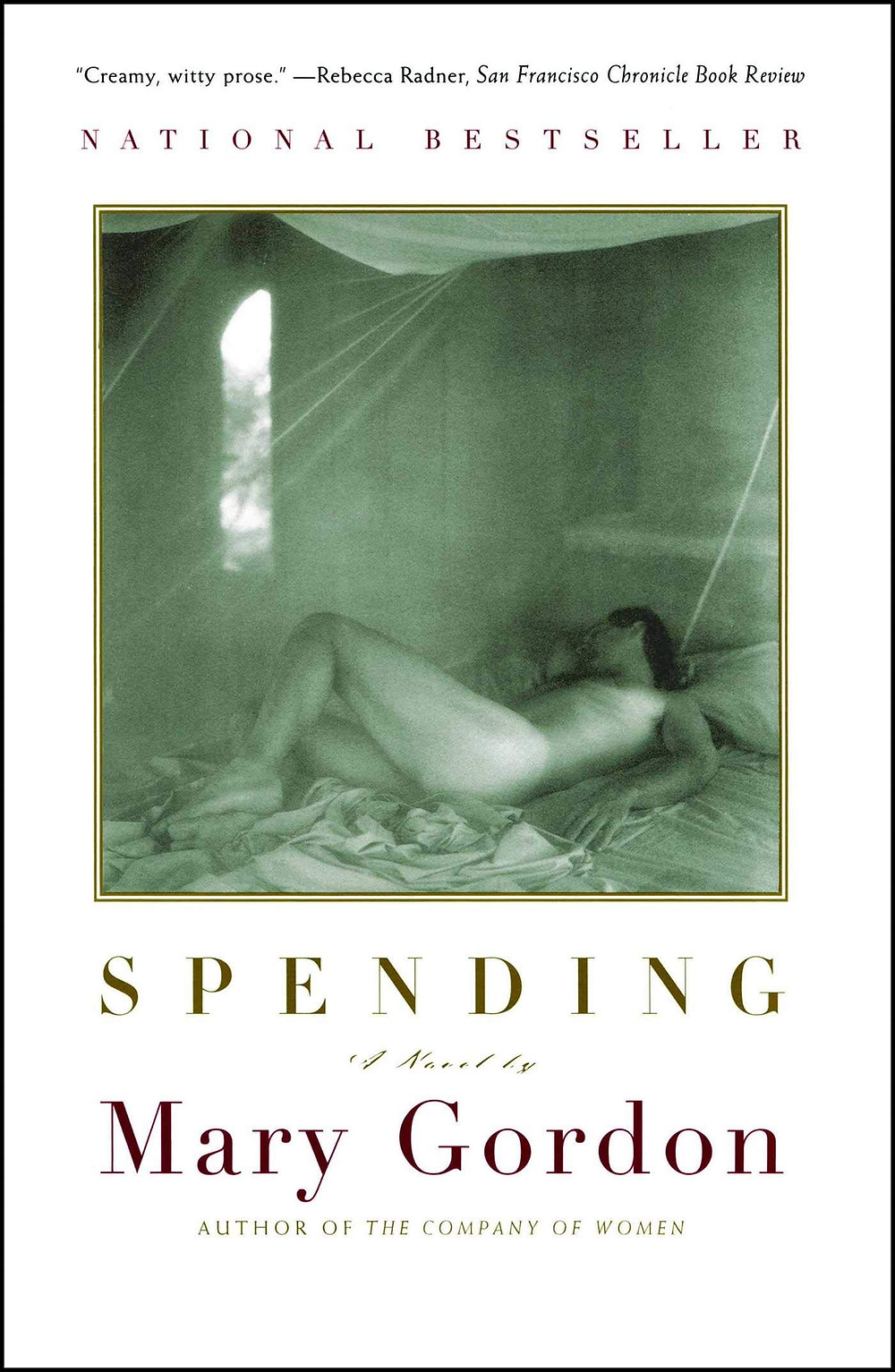 Spending by Mary Gordon : the book slut book reviews thebookslut