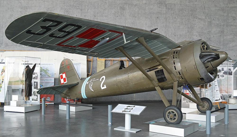 Polish Air Force PZL P.11