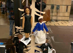 (UPDATED) Display with 'Hung' Black Figures Sparks Outrage, New Racial Bias Training
