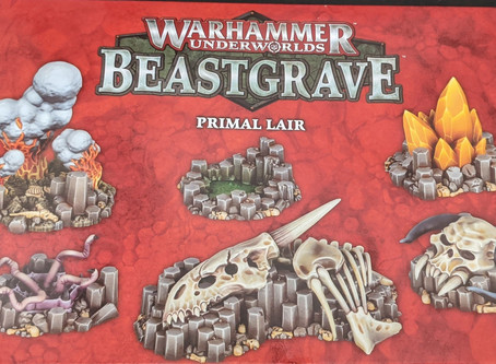 Product Review: Primal Lair Terrain Set