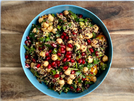 Pomegranate and Quinoa Summer Salad