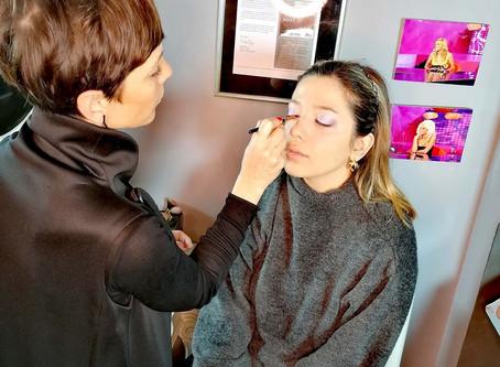 Bridal Make Up studies @ Sakis Isaakidis Make Up Artist School