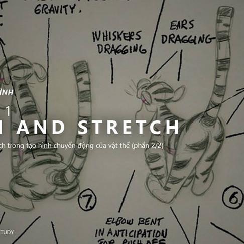 12 Nguyên Tắc Animation - Nguyên Tắc 1: Squash and Stretch