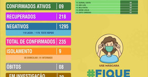 João Dourado: BOLETIM EPIDEMIOLÓGICO | 17 DE SETEMBRO DE 2020.
