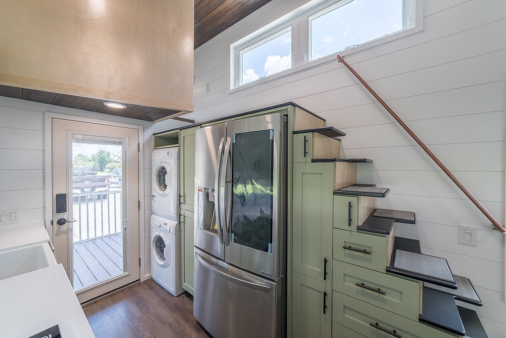 Tiny House Stairs with Storage