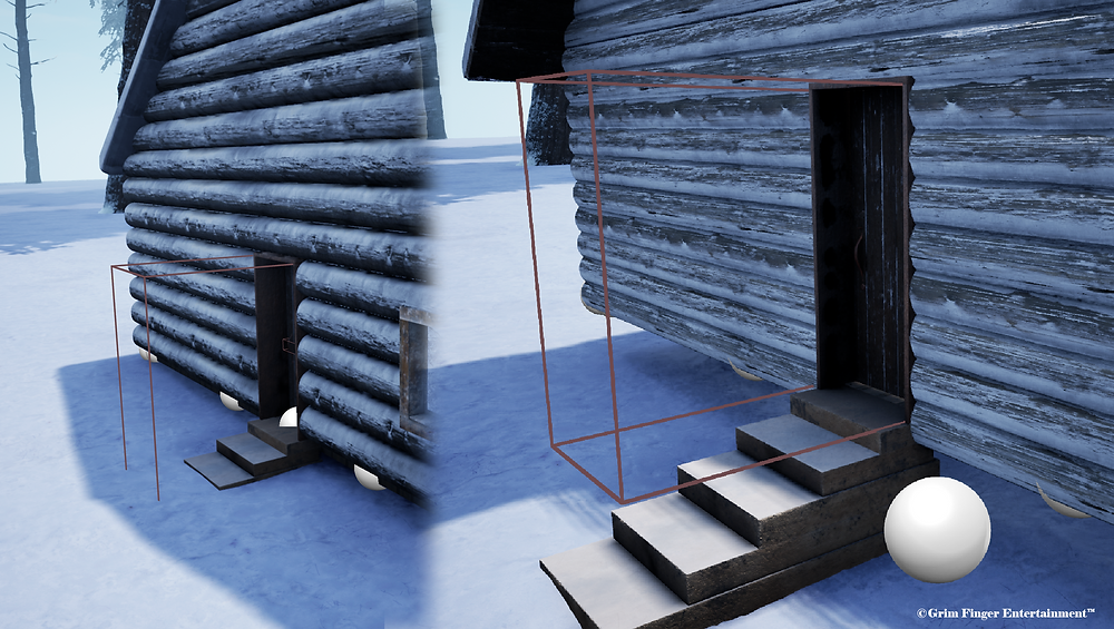 Left to right comparison of tiled 4k textures