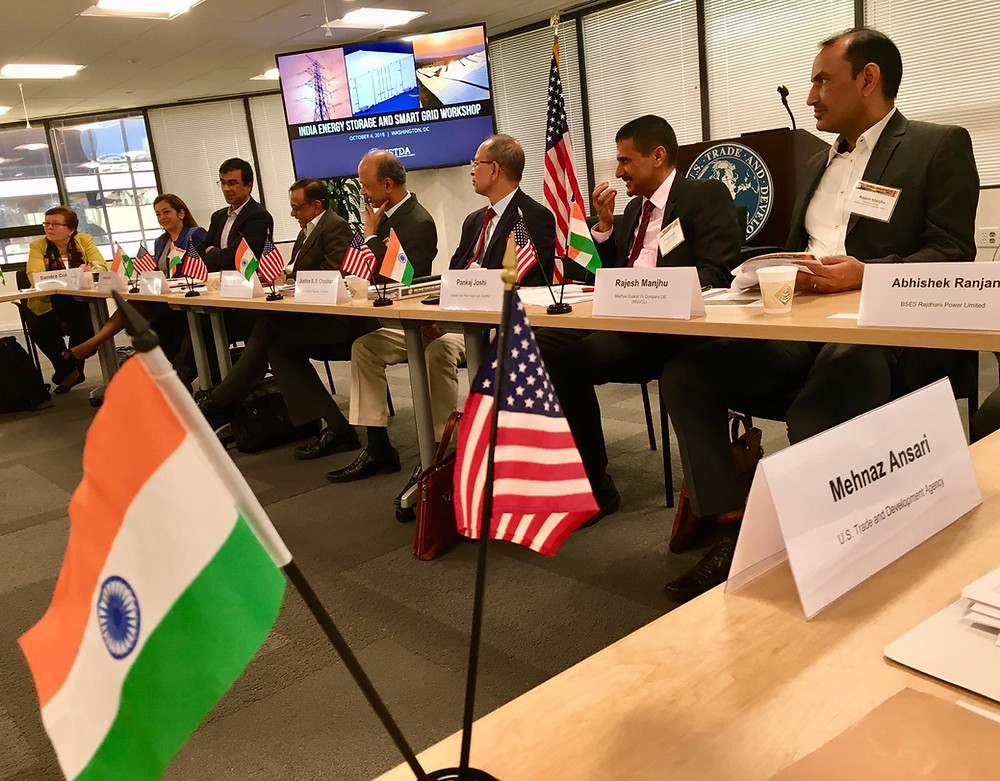 Tuatara Group organized a roundtable for the participating Indian delegates to engage with U.S. stakeholders including representatives from ANSI, NIST, CSIS, Energy Storage Association and ACORE.