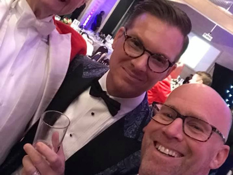 Oakmount and Partners Ltd. The Essex & Suffolk Ball With Some Of Our Clients.