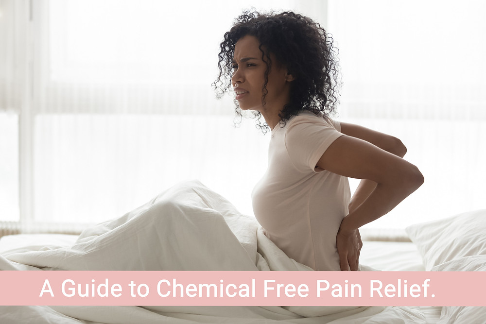 Chemical free pain relief.