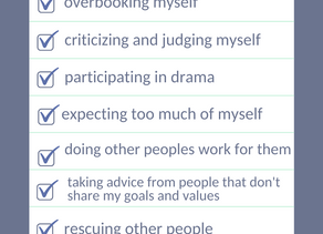 """If You are Constantly """"SHOULDING"""" Yourself,  Here is a List You Really Need"""