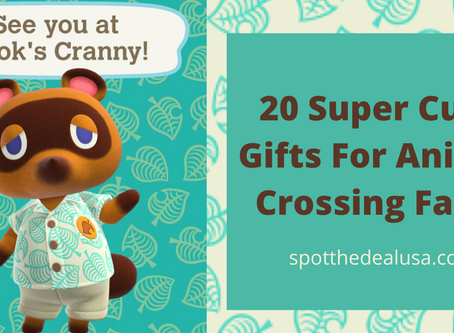 20 Super Cute Gifts For Animal Crossing Fans