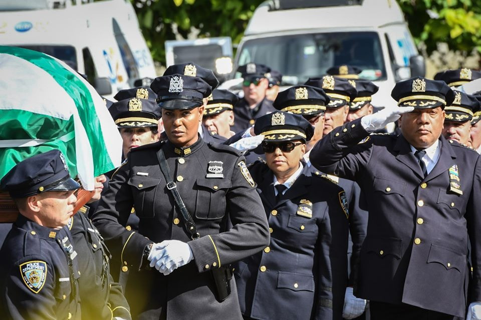 Funeral held for NYPD Officer Brian Mulkeen killed in the line of duty