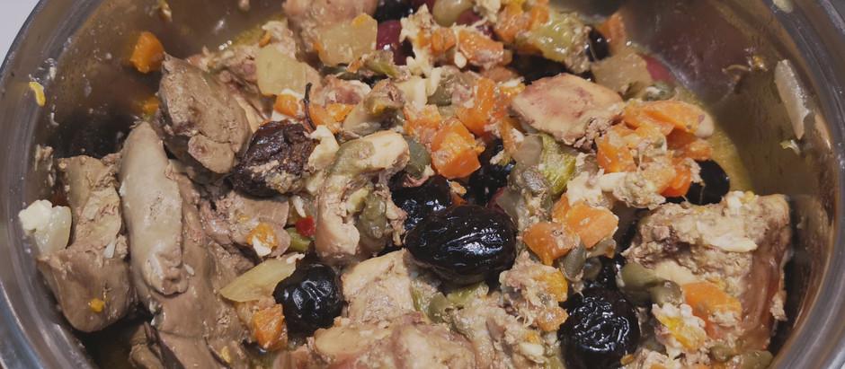 Coniglio in padella con olive