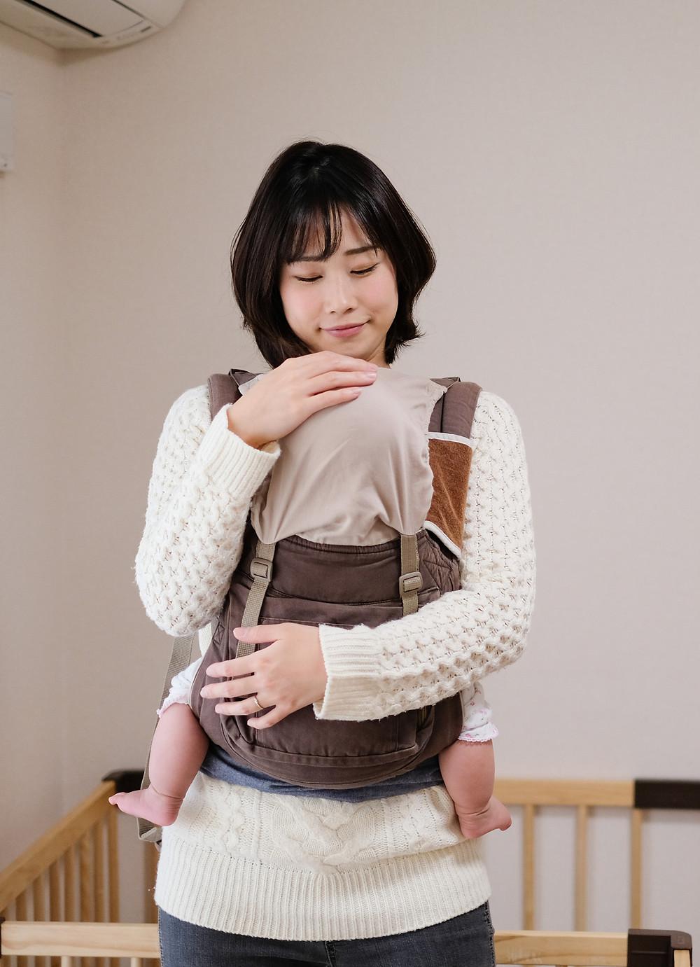 atelier de portage pour les bébés adoptés