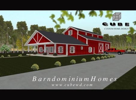 #Barndominium House Plan-BRN-07