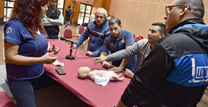 #Capital Alumnos de 20 escuelas de zona sur aprendieron reanimación cardiopulmonar