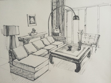 To begin with, you must consider the available floor space of your living room and prepare a rough sketch of the furniture you would like to include. If you skim through a few websites and online videos, you will find that most of the standard living rooms include four basic items- an armchair, coffee table, a sofa, and a TV stand. But in the end, it boils down to your preferences and choices and what your living space can afford.