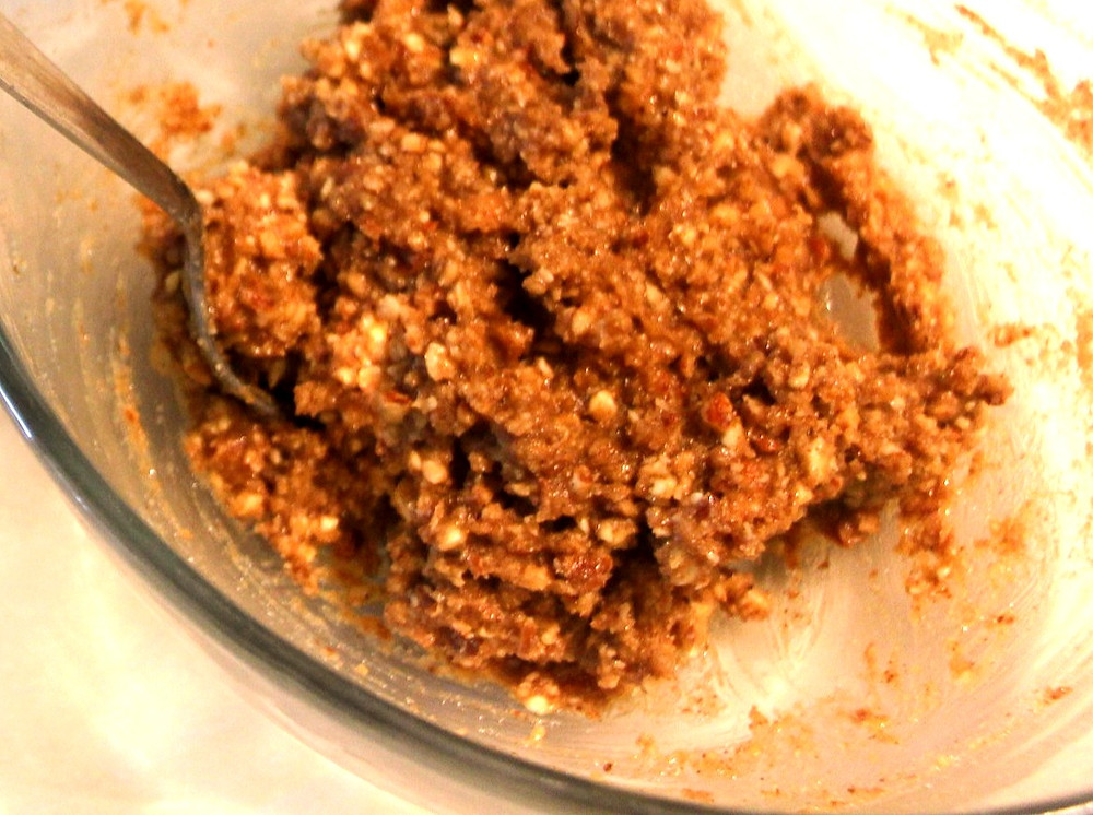 cooled almond hazelnut butter mixture