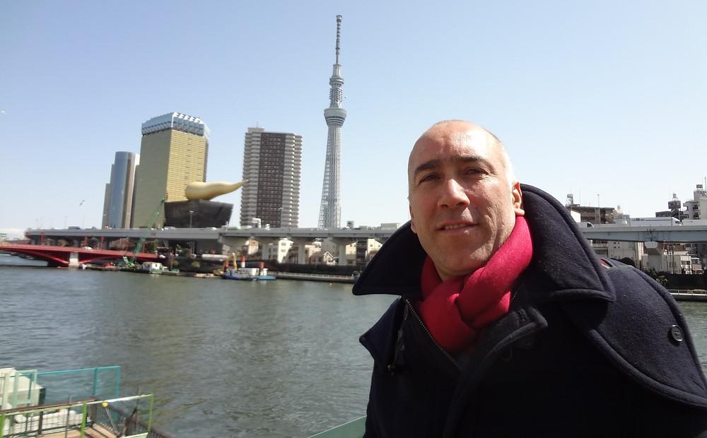 Marcelo Fernandes em Tóquio