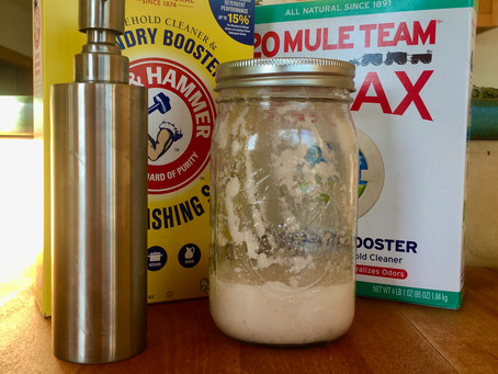 Homemade Liquid Dish, Hand,  & Laundry Soap