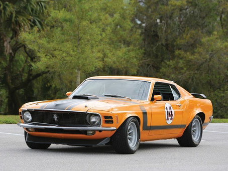 Unrestored 1970 Boss 302 Trans Am Racer
