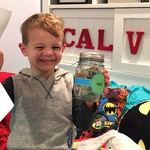 Michigan Four Year-Old Donates Allowance to Needy Detroit Families