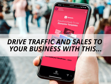 DRIVE TRAFFIC AND SALES TO YOUR BUSINESS WITH THIS...