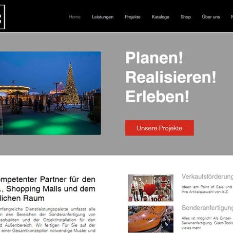 Unsere neuen Webseiten