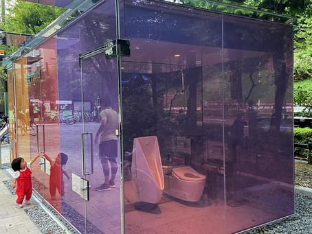 A Tokyo, les toilettes publiques sont désormais transparentes