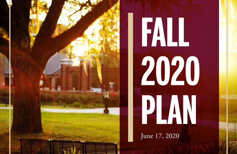 Simply Put: FSU Draft Fall 2020 Plan