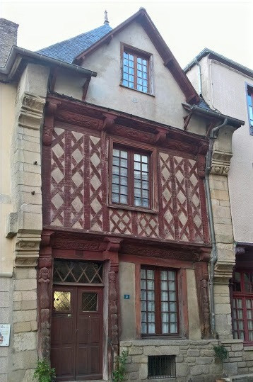500 year old timber house