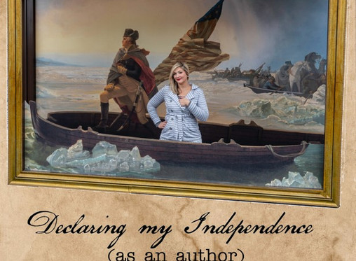 Declaring my Independence as an Author