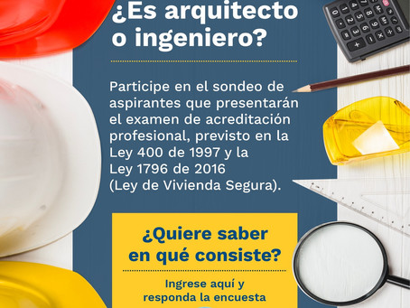 SONDEO ACREDITACIÓN DE PROFESIONALES Ley 400 de 1997